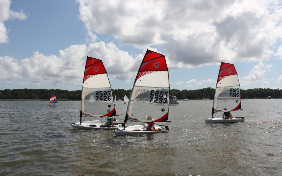 Spring Dinghy Series Starts Sunday